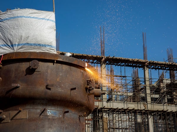 Decommissioning Welding